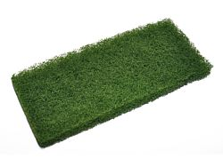 Grønn skurepad til padholder